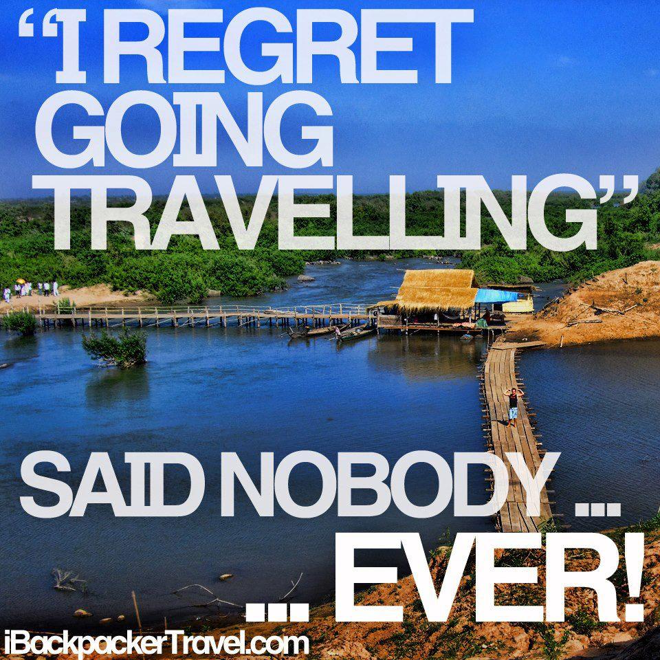 Regret Traveling
